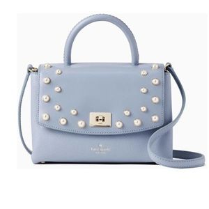 Kate Spade NY Cloud Blue Satchel Crossbody
